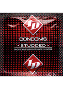 Id Studded Lubricated Latex Condoms 3 Each Per Pack