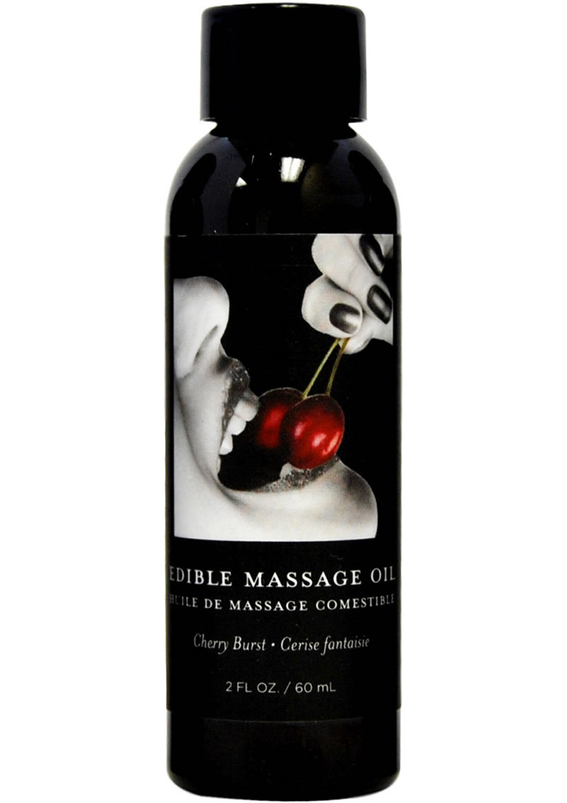 Earthly Body Earthly Body Edible Massage Oil Cherry Burst 2oz